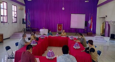 Pemerintah Kota Makassar Dinas Kebudayaan Melakukan Survei Sekaligus Permintaan Izin