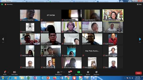 Kuliah Umum STT INTIM Makassar  Ditengah masa pandemi Covid-19 Secara Virtual